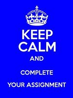 Are you stressed with your Assignment? contact now