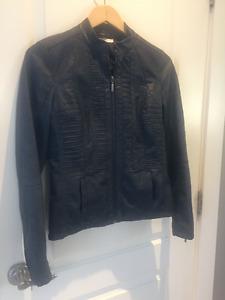 Ladies Faux Leather Jackets - Cleo Petites & Rickis Size 2