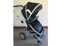 Silver Cross Surf pushchair/carrycot/car seat