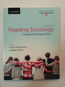 Reading Sociology: Canadian Perspectives, 2nd Edition