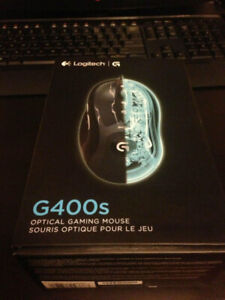 Logitech G400s - Optical Gaming Mouse - New/Sealed in Box