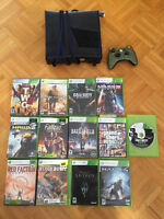 xbox 360 slim + 13 jeux + gaming chair