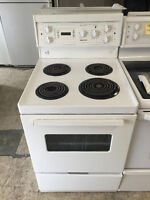 24 inch Apartment Size Stove - White Excellent Condition