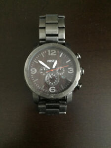 Fossil Nate Chronograph watch - never used, mint condition