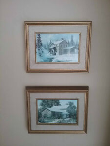 2 Keirstead prints - 5 x 7 - $25.00 each
