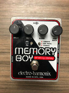 Memory Boy Delay Pedal (WITH BOX and INSTRUCTION MANUAL)