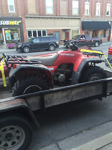 Wanted: Honda ATV frame with Title