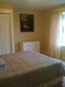 Furnished room with TV/Armoire