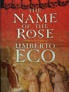 UNIVERSITY STUDENTS!  THE NAME OF THE ROSE by Umberto Eco
