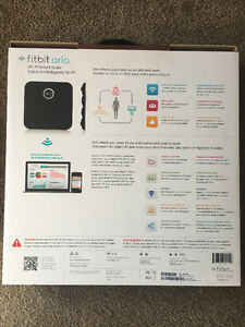 Fitbit Aria Wi-Fi Smart Scale - Black Mint condition London Ontario image 3