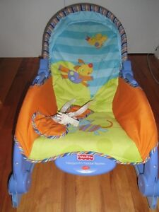 chaise bercante transportable Fisher Price