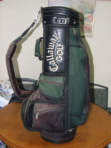 Callaway Golf Hawkeye Cart Golf Bag - Green & Black - $20.00