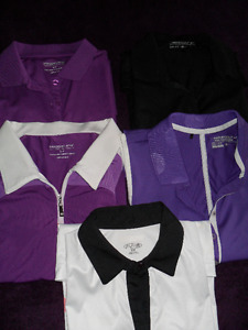Assort Top Brand Like new Ladies Golf Clothing