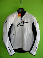 Alpinestars - Leather Jacket - Perforated - Med Fit at RE-GEAR Kingston Kingston Area Preview
