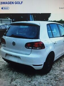 volkswagen golf 2013 parted out parts only