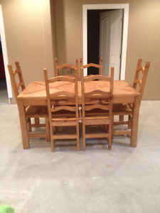 Mexican dining table set