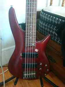 Ibanez sdgr 505  (with soft shell case)