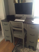 Beautiful vintage desk and chair