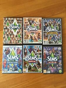 Sims 3 + FIVE Expansion Packs for 25$!