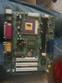 Epic EP-3WTM Motherboard & CPU