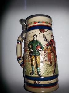 Bock à bière de collection  (Football )