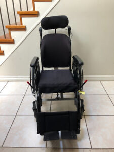 Tilt and Recline Wheelchairs with Roho Cushion Seat for sale