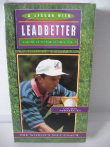 Golf Video, A Lesson With Leadbetter, Taking It to the Course Vo