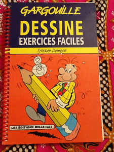 Gargouille Dessine Exercices Faciles