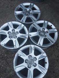 """16"""" Audi A1, A2, A3, A4, A5, A6 alloy wheels (443)"""