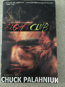 Fight Club by Chuck Palahniuk- Autographed (1997, Paperback) Cambridge Kitchener Area image 1