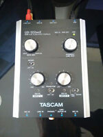 Tascam US122MKII USB Audio/Midi Interface (for recording)