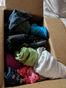 Size 4-5 clothes, $25 for a big box