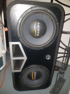 "12"" subs in box $300"