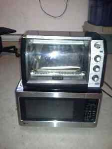 Microwave & Toaster oven