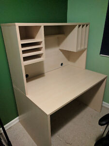 Wooden Ikea Desk