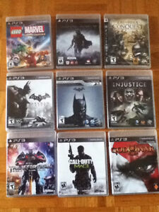 9 ps3 games for 70$