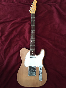 Fender Highway One Telecaster with Warmoth Neck