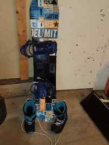 Jr Board and Boots Firefly
