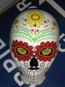 Porcelain skull