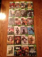 Xbox 360 games for sale!!! Contact me if interested