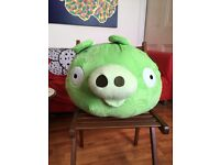 Angry Birds green pig plush toy