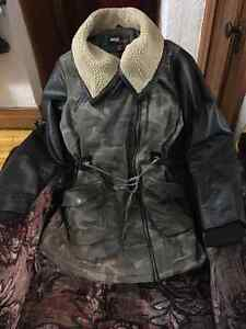 """Beau manteau d'hiver style armee """"miss sixty"""" XL A+++ condition!"""