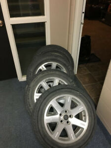 17 inch original Chrysler wheels for sale