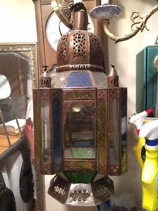 lampe marocaine antique