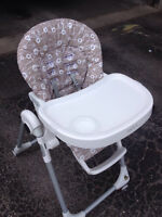 Barely used High chair! $60