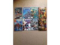 8 comic books £10 (2 graphic novels)