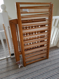 Free cot bed with mattress