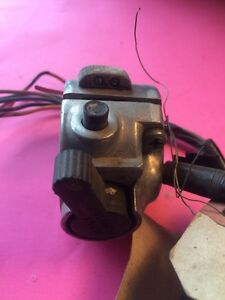 1968 Kawasaki 250 Left Handlebar Switchgear