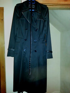 black trench from Le Château worth 200$!