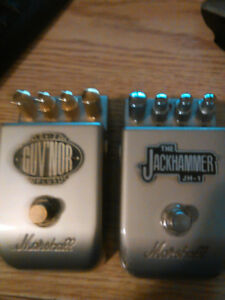 Two Marshall Pedals